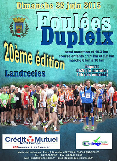 foulees2015 affiche
